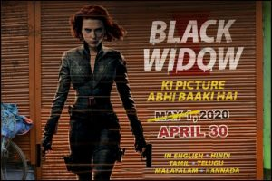 MCU's Black Widow to release in India before US