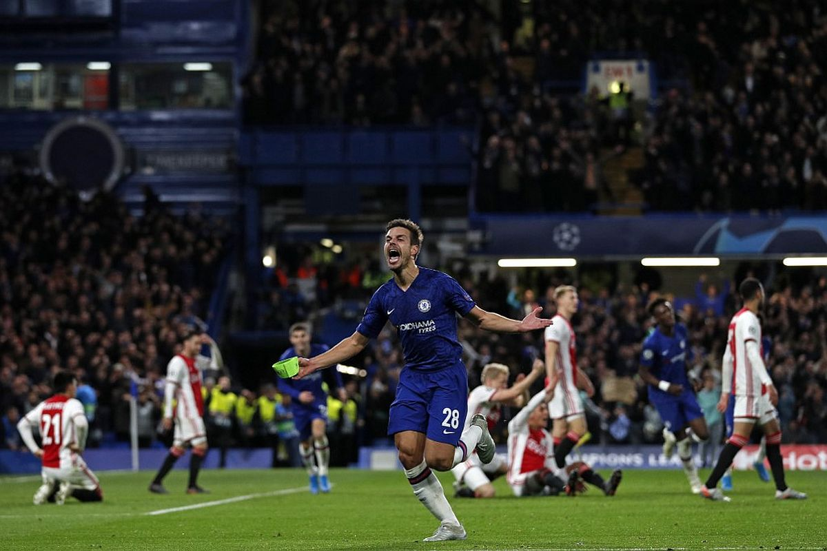 Chelsea Vs Ajax Blues Recover 3 Goal Deficit Amidst Var Chaos
