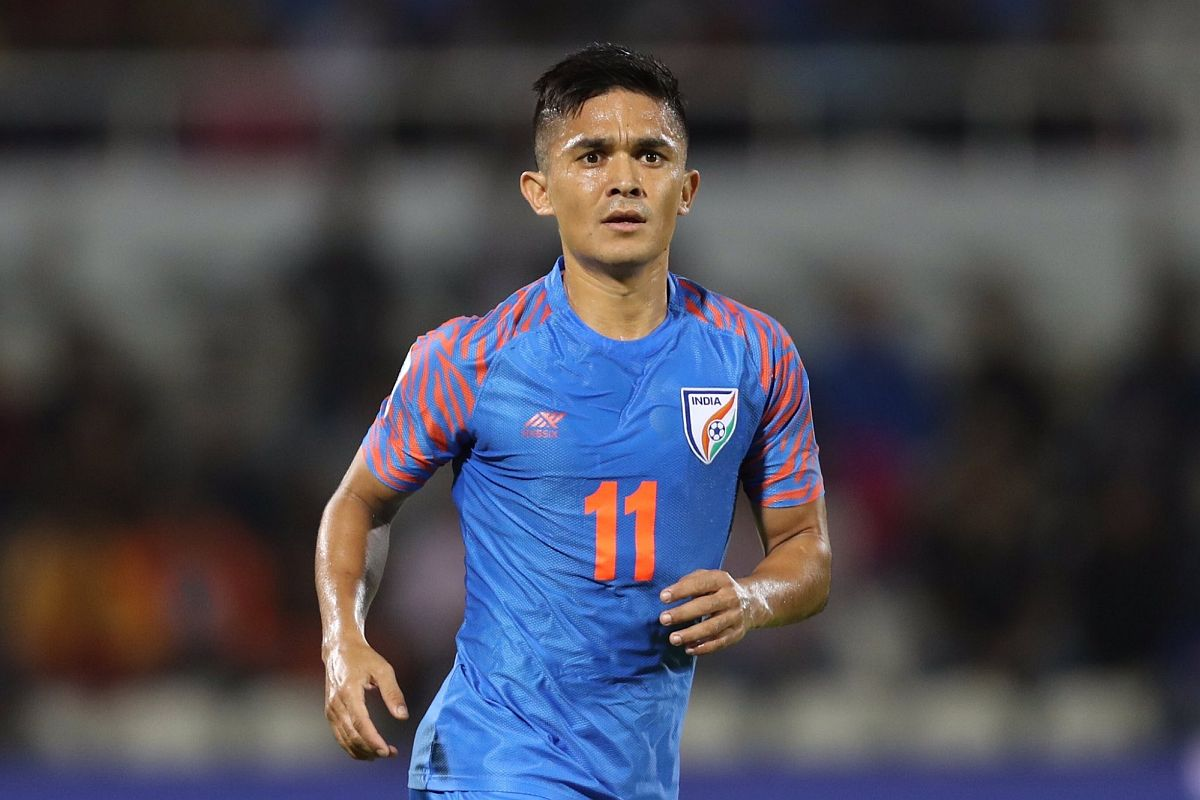 Sunil Chhetri alongside Lionel Messi and others in FIFA's campaign ...