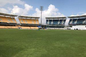 Three empty stands of Chennai's Chepauk Stadium can be reopened