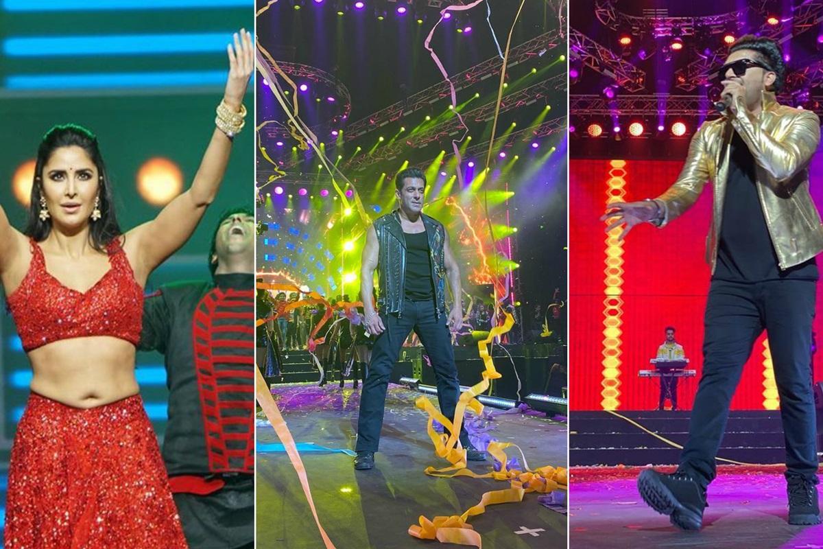 Da-bangg tour, Dabangg 3, Salman Khan, Katrina Kaif, Sonakshi Sinha, Chulbul Pandey, Dabangg, Maneish Paul, Guru Randhawa, Kamaal Khan, Aayush Sharma, Prabhu Deva, Razzo, Sohail Khan, Tiger Zinda Hai