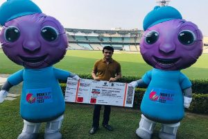 IND vs BAN, D-N Test: Mascots, 3D mapping, LED boards spice up Eden Gardens