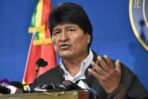 Evo Morales leaves for Mexico as Bolivia military pledges to tackle violence