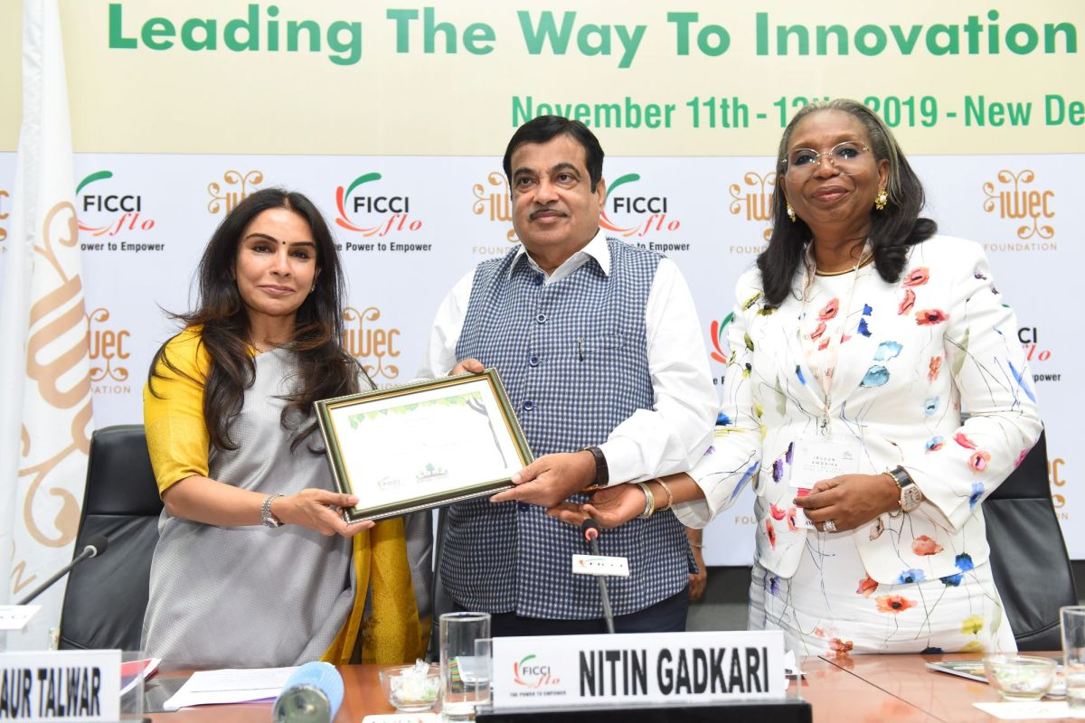 Manufacturing in India will cut cost by 25% to 40%, Gadkari tells women entrepreneurs at IWEC 2019