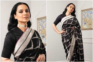 Kangana Ranaut's sari swag is all you need this wedding season
