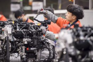 China factory activity expands in seventh month after 6-month losing streak