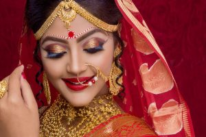Traditional associations of bridal jewellery