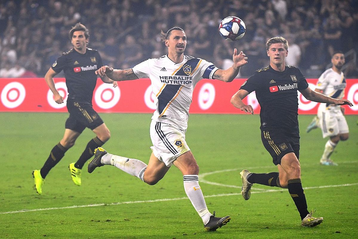 Zlatan Ibrahimovic: AC Milan 'recruiting' LA Galaxy striker - MLS chief