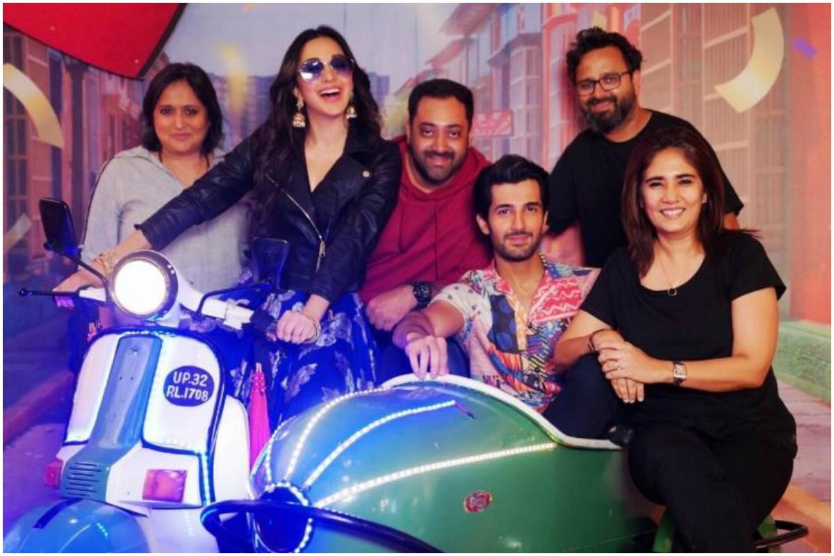 Kiara Advani, Aditya Seal wrap up 'Indoo Ki Jawani' shoot