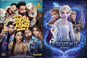 Pagalpanti, Frozen 2 opening weekend box office collections