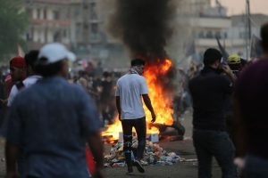 Hundreds of banks, government sites set on fire during unrest: Iran