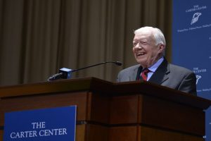 Former US President Jimmy Carter admitted to hospital