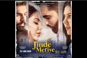 Sonam Bajwa, Parmish Verma in Jinde Meriye; first look poster out