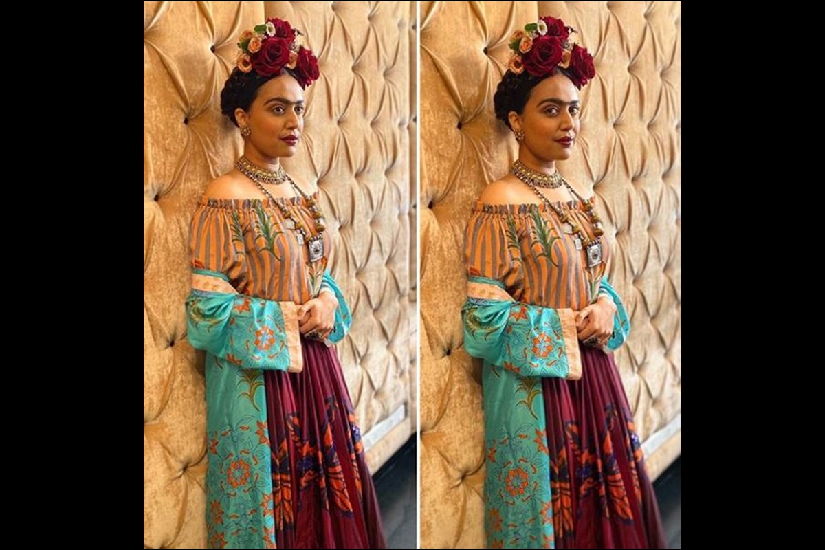 Frida Kahlo, Swara Bhasker, Veere Di Wedding, Prithviraj Kapoor, Dilip Kumar, Madhubala, Mughal-e-Azam, Anarkali, Madhubala, Sonam Kapoor, Halloween, Halloween Day