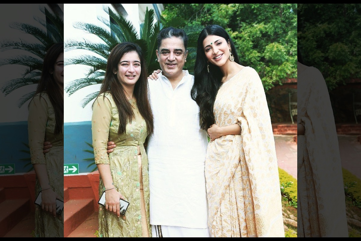 Happy Birthday Kamal Haasan: Shruti, Akshara pen warm note for father