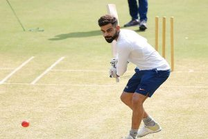 WATCH   Kohli plays gully cricket on Indore streets with children