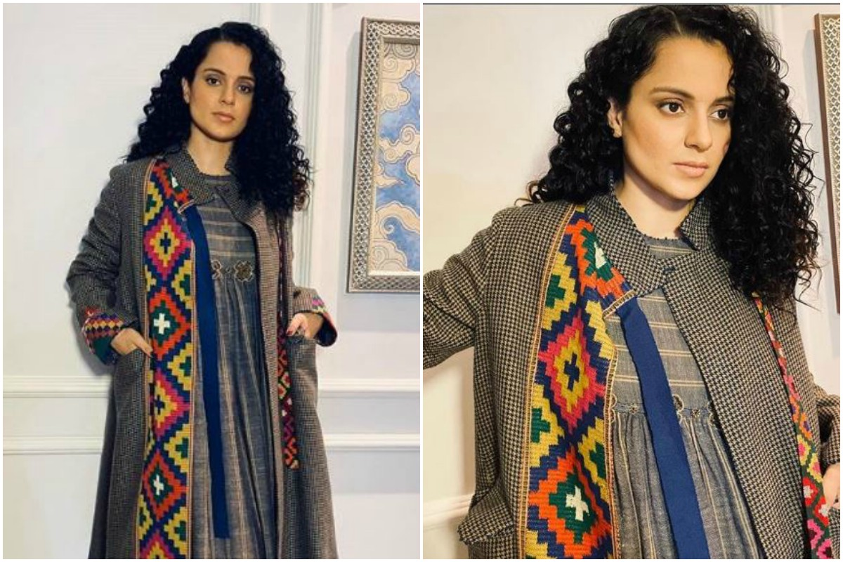 Kangana Ranaut's pahadi attire is trendsetting ; Try now