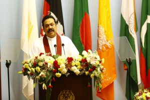 Mahinda Rajapaksa takes oath as new Sri Lanka Prime Minister
