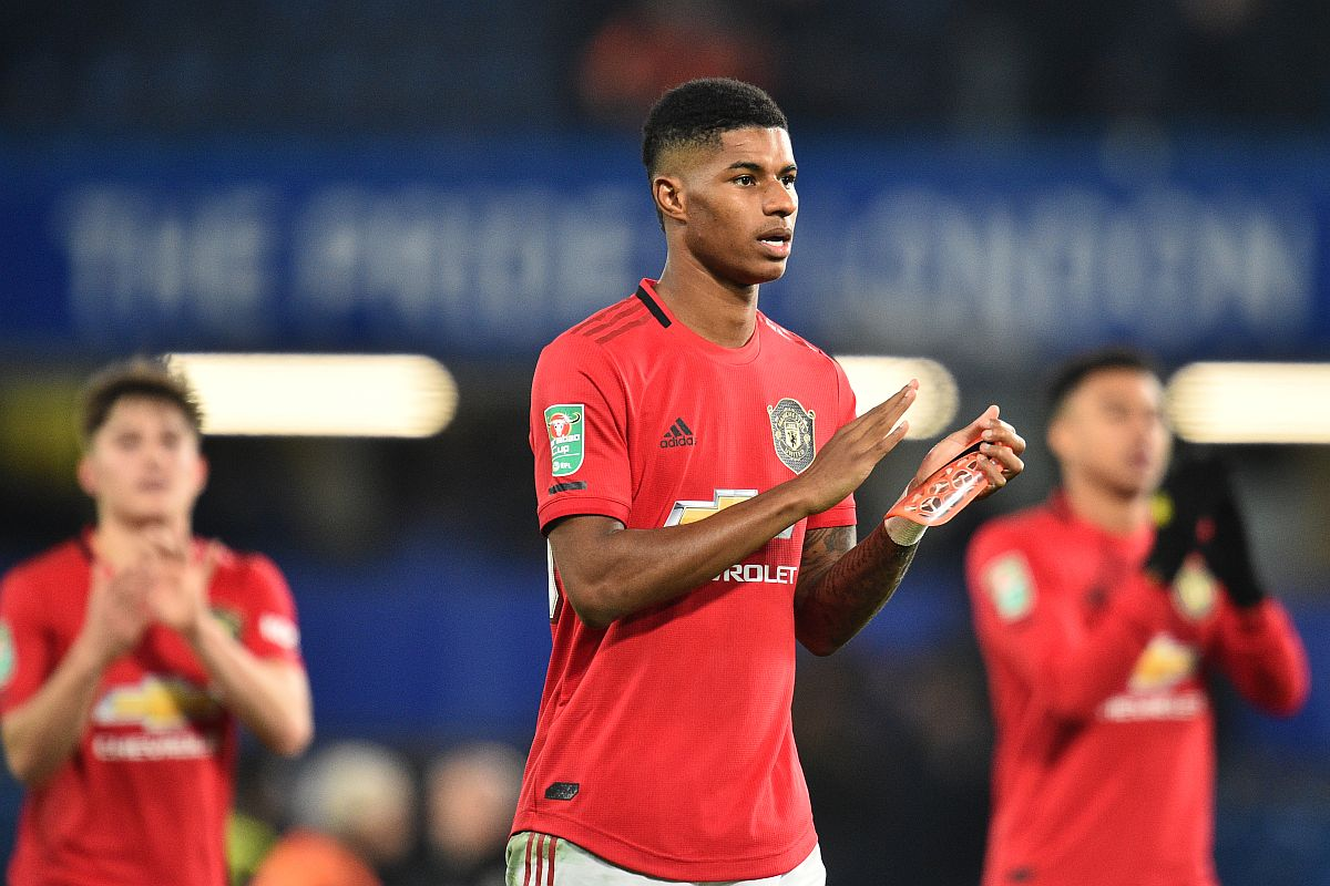 Marcus Rashford Out Until February With Back Injury