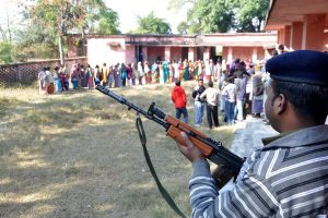 Jharkhand Assembly polls: Maoists blow up bridge amid voting for first phase on 13 seats
