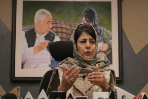 Mehbooba Mufti moved from guest house, detained since August 5