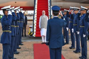BRICS Summit: PM Modi reaches Brazil to attend 11th edition of conference