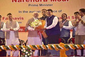 PM Modi congratulates Devendra Fadnavis, Ajit Pawar on becoming Maharashtra CM, Deputy CM