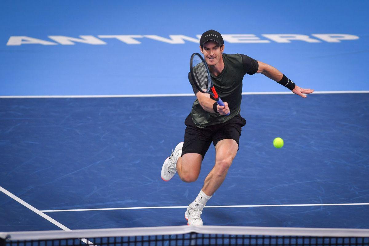 Andy Murray, Greg Rusedski, Novak Djokovic, Australian Open