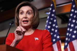 Nancy Pelosi narrowly re-elected US Speaker of the House