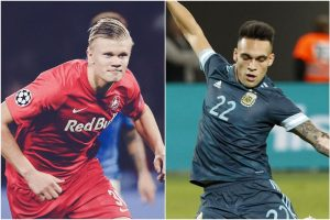 Barcelona set their eyes on Lautaro Martinez, Erling Braut Haaland as replacement for Luis Suarez