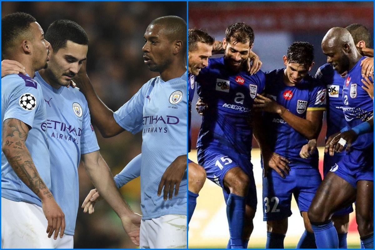 Image result for mumbai city fc manchester city