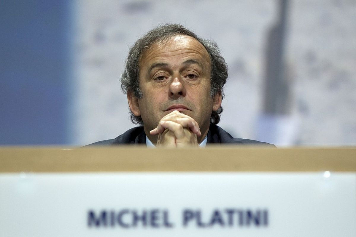 UEFA, FIFA, Michel Platini, Sepp Blatter