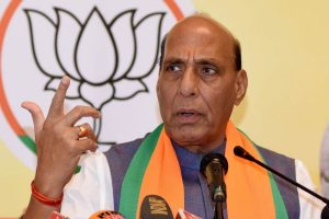 Foreign forces trying to 'mislead' people over citizenship law: Defence Minister Rajnath Singh
