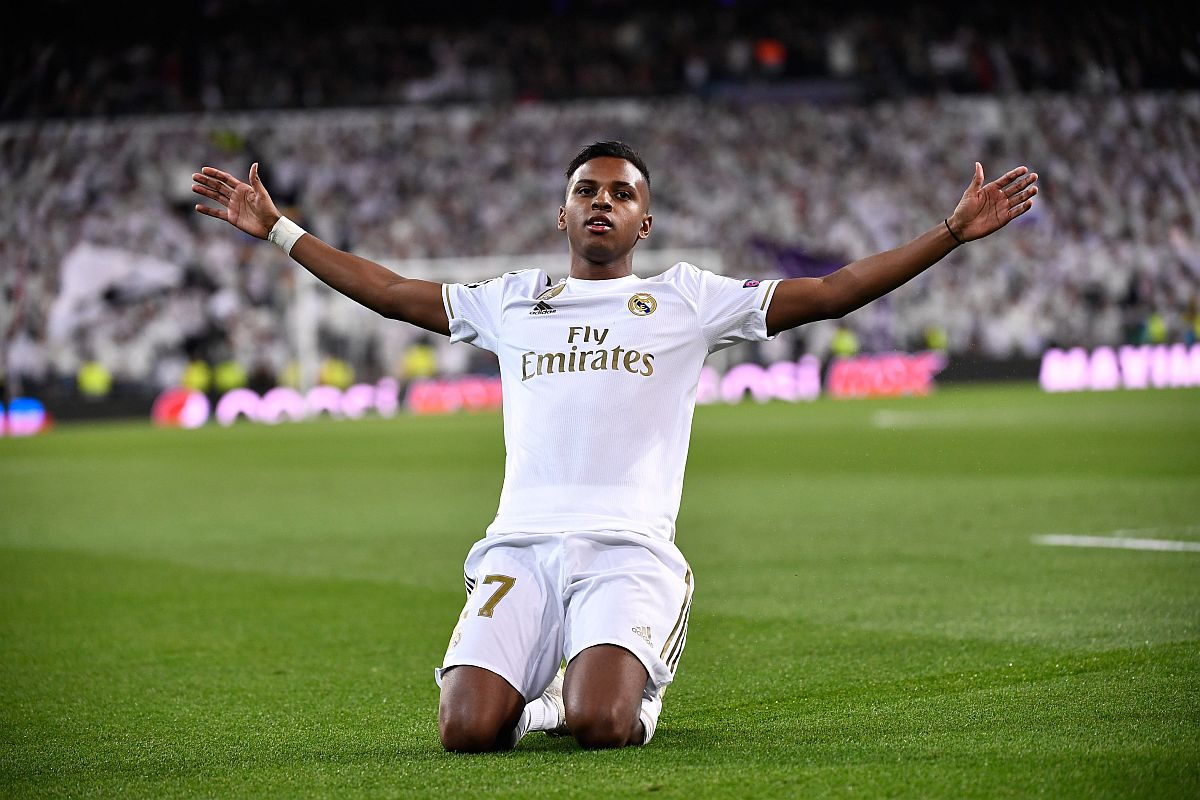 Real Madrid Vs Galatasaray Rodrygo Scores Hat Trick To Make