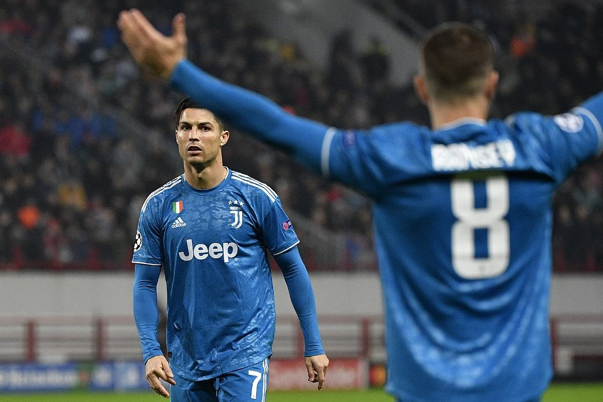 Cristiano Ronaldo, UEFA Champions League, Juventus, Lokomotiv Moscow vs Juventus, Ramsey apologises to Ronaldo, Ramsey explains why he stole Ronaldo's goal, Cristiano Ronaldo angry, Aaron Ramsey goal vs Lokomitv Moscow, Ramsey steals Ronaldo's goal, Ramsey Ronaldo goal,