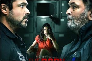 'The Body': Emraan Hashmi unveils new poster featuring Rishi Kapoor and Sobhita Dhulipala