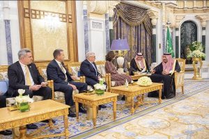 After reports of spying on Twitter users, CIA chief meets Saudi King