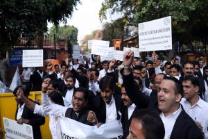 Bar Council of India urges lawyers to end protest, join back work