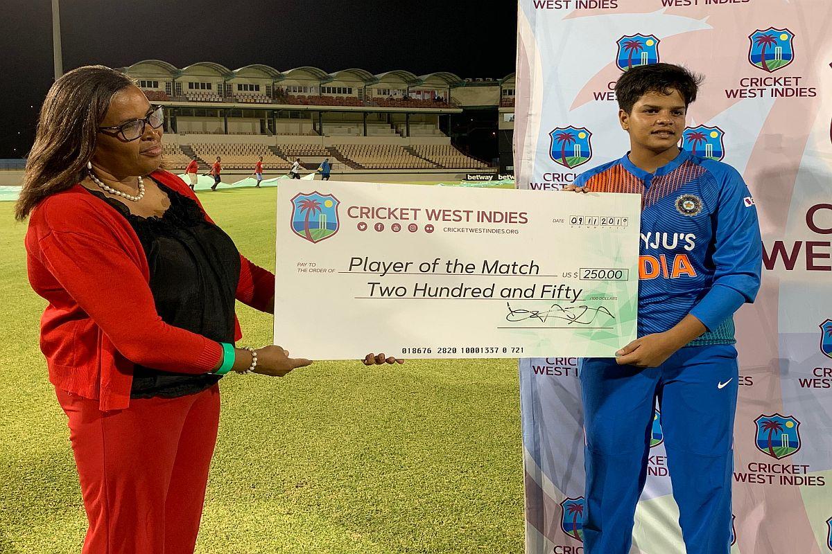 Shafali Verma, India Women vs West Indies Women, INDW vs WIW, Indian women's cricket team, Sachin Tendulkar records