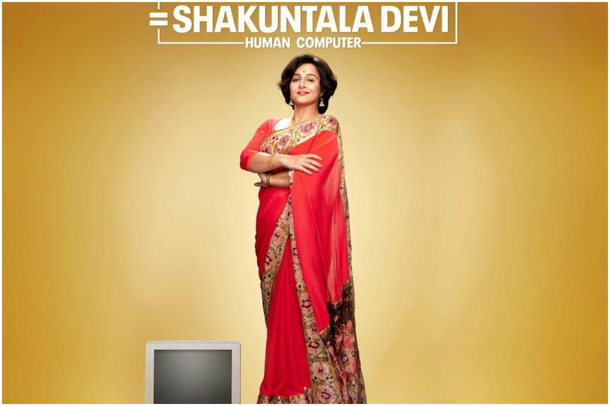 Vidya Balan, Shakuntala Devi, Abundantia Entertainment,Vikram Malhotra ,Anu Menon, Jisshu Sengupta, Sanya Malhotra