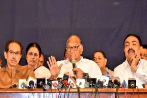 Ajit Pawar's tweet is false, misleading done in order to create confusion: Sharad Pawar