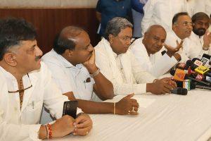 Bengaluru: Sedition charges against Siddaramaiah, HD Kumaraswamy
