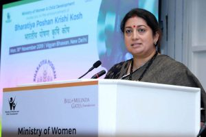 Over 1500 cases of child marriage between 2013 to 2017: Smriti Irani
