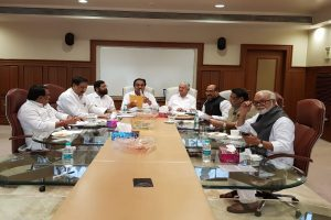 Series of meetings between NCP-Congress, Shiv Sena on ' common minimum programme'