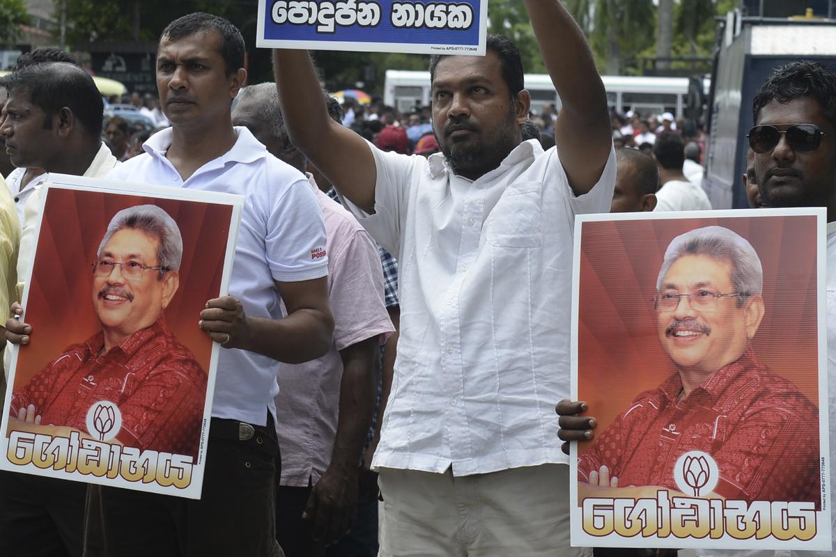Sri Lankan Presidential polls