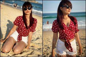 Naagin 3 actor Surbhi Jyoti redefines beach wear in Australia; see pics
