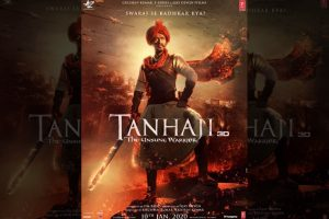 Ajay Devgn's Tanhaji: The Unsung Warrior new poster out