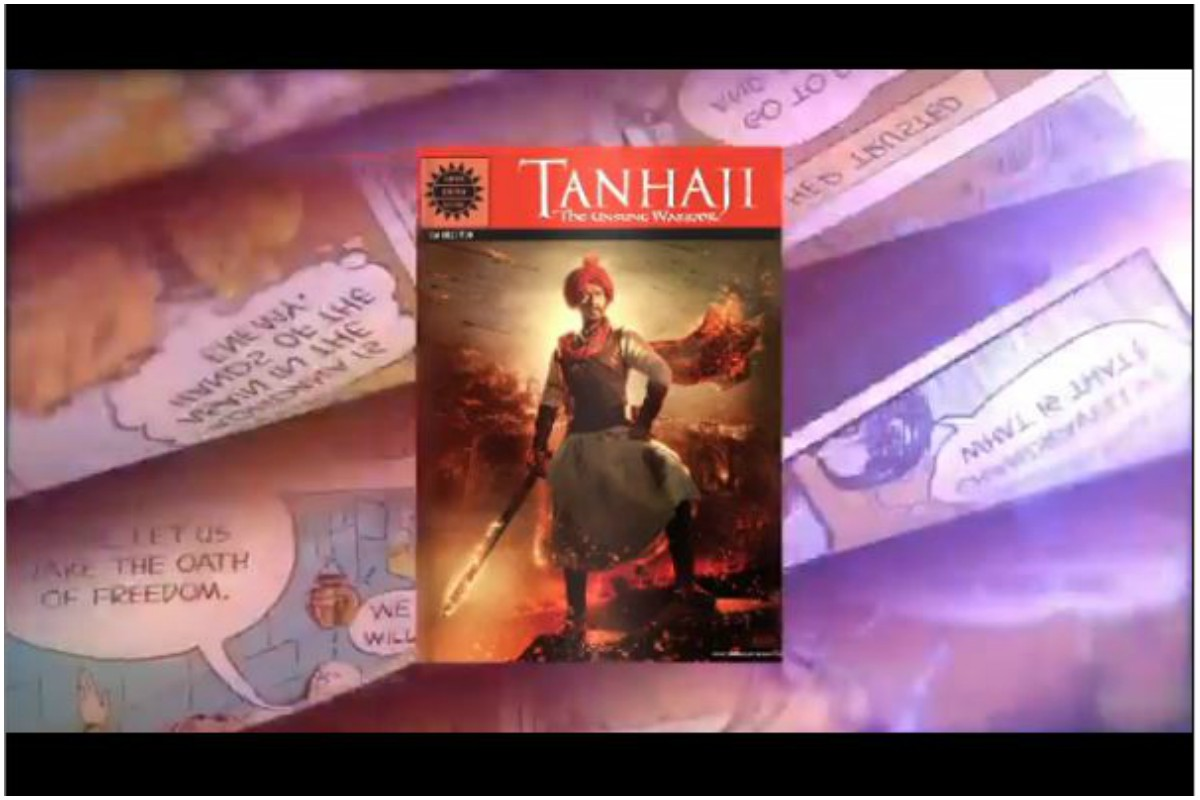 Tanhaji: The Unsung Warrior teams up with Amar Chitra Katha to launch new poster of Ajay Devgn film