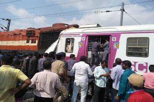 Two trains collide at Kacheguda Railway Station in Hyderabad; over dozen injured