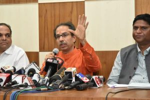 Work of Aarey car-shed to be suspended till further orders, says Uddhav Thackeray